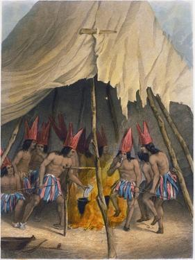 Dance to the Giant, 1853 by Seth Eastman