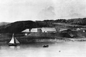 Fort Knox, Maine, 1870-1875 by Seth Eastman