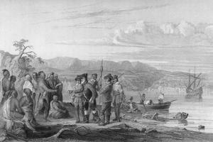 Hudson and Mohicans 1609 by Seth Eastman