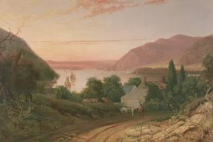 Hudson River with a Distant View of West Point, 1834 by Seth Eastman