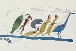 Symbolic Petition of Chippewa Chiefs Presented at Washington by Seth Eastman