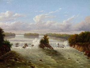 The Falls of St. Anthony, 1848 by Seth Eastman