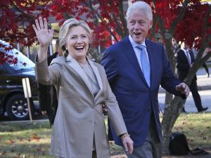 2016 Election Clinton by Seth Wenig