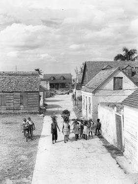Settlement at Governor's Harbour, Eleuthera, Bahamas, C.1953