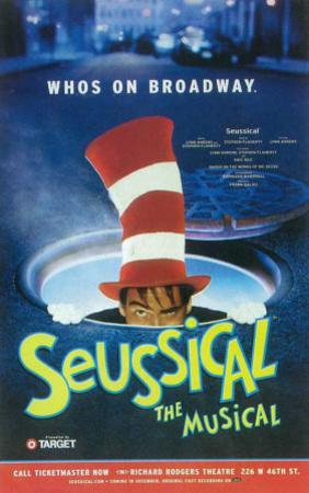 Seussical - Broadway Poster , 2000