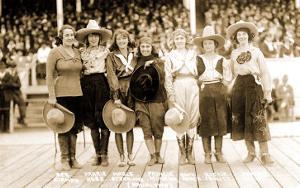 Seven Cowgirls