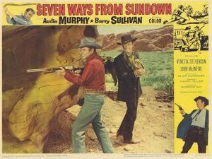 Seven Ways From Sundown, 1960