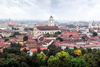Panorama Old Town of Vilnius by Severas