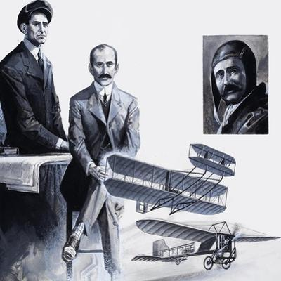 The Wright Brothers by Severino Baraldi