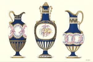 Sevres Porcelain Pitchers