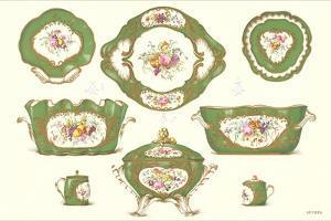 Sevres Porcelain Serving Dishes