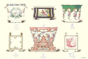 Sevres Porcelain Vessels
