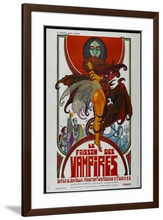 Sex and the Vampire - French Style--Framed Poster