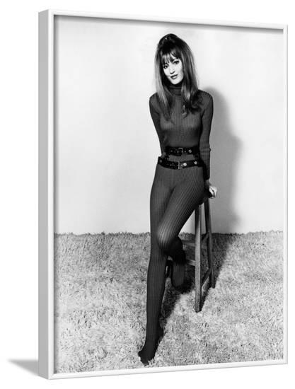 Sexy Model--Framed Photographic Print