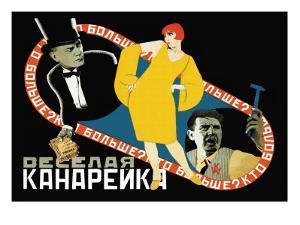 Happy Canary by Seymon Semyonov