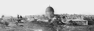 Panorama of Jerusalem, 1865 by Sgt. James McDonald