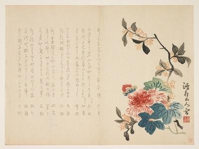 Autumn Flowers, C.1854-59