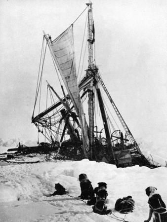 """Shackleton's """"Endurance"""