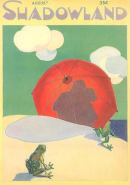 Shadowland Magazine, Frogs on Beach