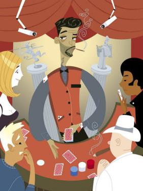 Shady Casino Dealer