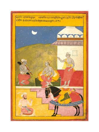 Kedar Ragini of Sri, 1628