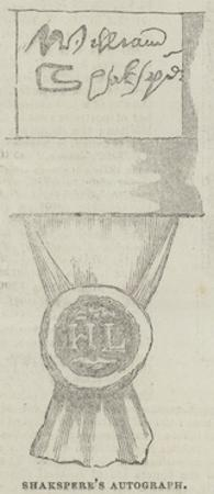 Shakespeare's Autograph