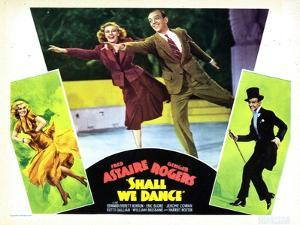 Shall We Dance, L-R, Ginger Rogers, Fred Astaire, 1937