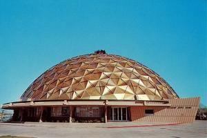 Shallow Geodesic Dome Structure