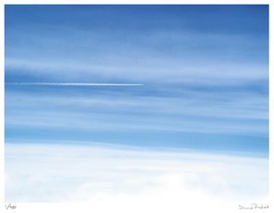 Passing Jet at 37000 Feet
