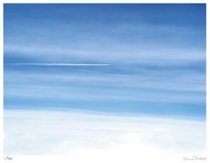 Passing Jet at 37000 Feet by Shams Rasheed