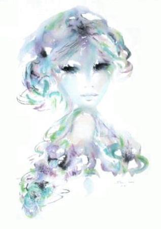 Portrait de jeune fille IV