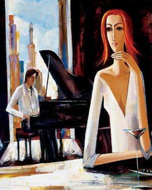 At Piano Bar by Shana