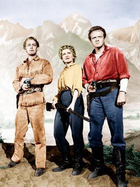Shane, Alan Ladd, Jean Arthur, Van Heflin, 1953