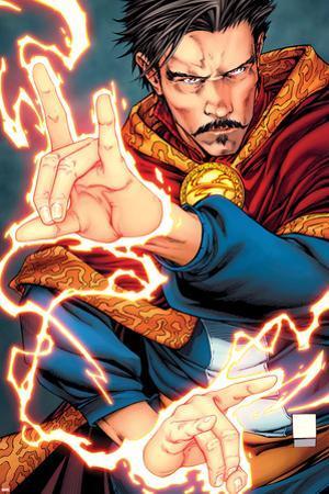 Doctor Strange: Last Days of Magic No. 1 Cover Art by Shane Davis