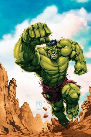 Marvel Age Hulk No.2 Cover: Hulk by Shane Davis
