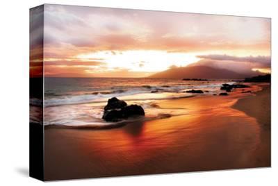 Coastal Rocks in Hawaii at Sunset by Shane Settle