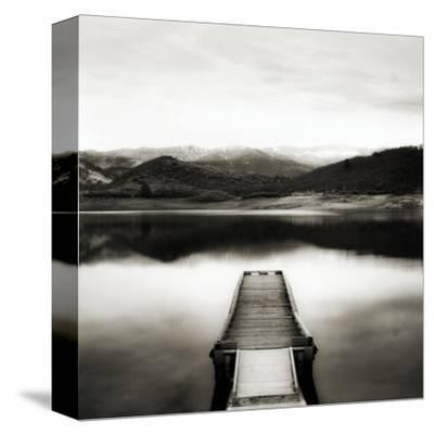Emigrant Lake Dock II in Black and White by Shane Settle
