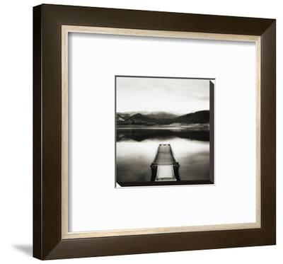 Emigrant Lake Dock II in Black and White by Shane Settle