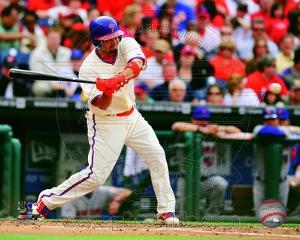 Shane Victorino 2012 Action