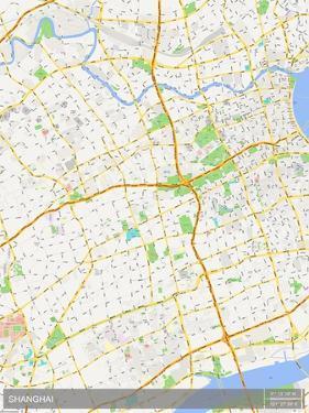 Shanghai, China Map