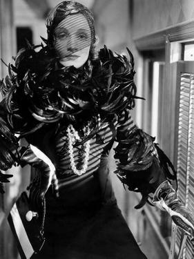 Shanghai Express by Josef von Sternberg with Marlene Dietrich, 1932 (b/w photo)
