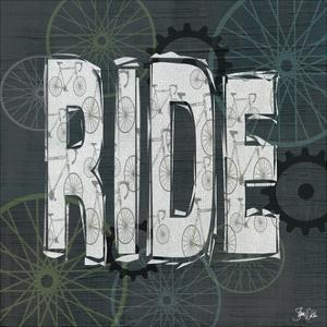Ride Typography - Sage by Shanni Welch