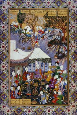 Shapur Approaches Khusrau Parviz