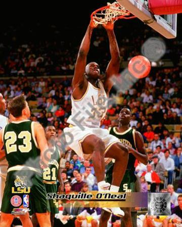 Shaquille O'Neal Louisiana State University Tigers