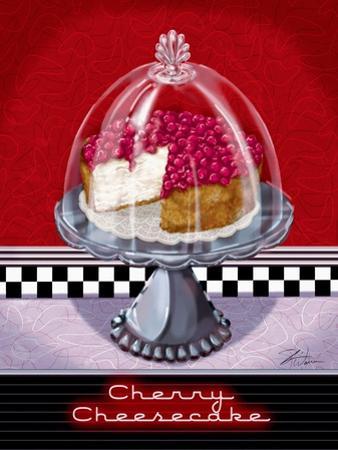 Cherry Cheesecake by Shari Warren
