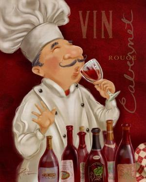 Wine Chef III by Shari Warren
