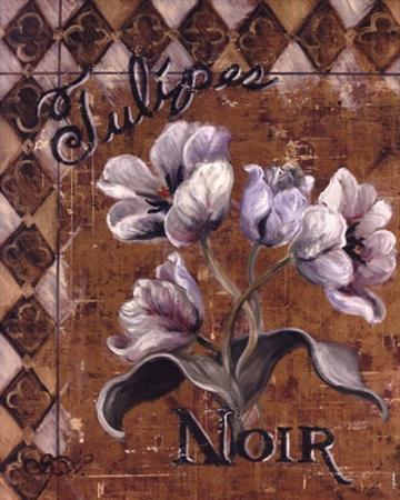 Tulipes Noir by Shari White