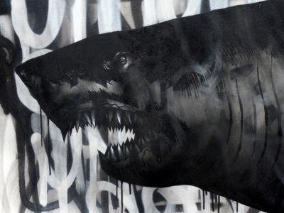 Black on Black Shark