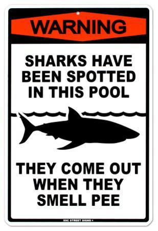 Sharks In The Pool
