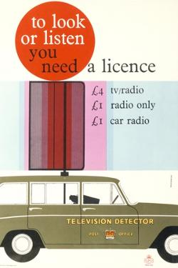 To Look or Listen You Need a Licence by Sharland Dick and Philip Negus
